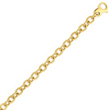 14K Yellow Gold 7.5mm Polished Fancy Link Bracelet